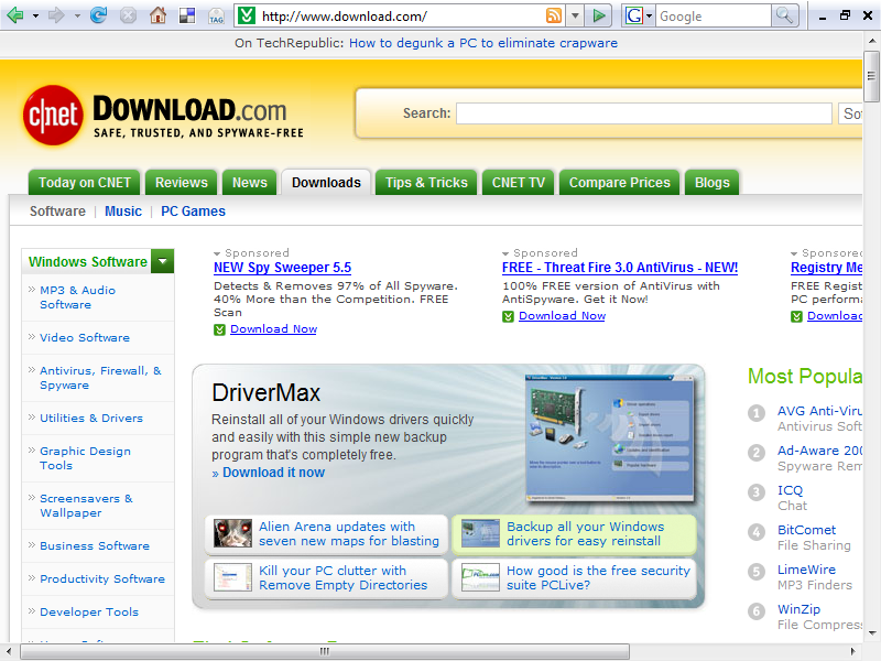 Top ten websites to download free legal software for 10 best free websites